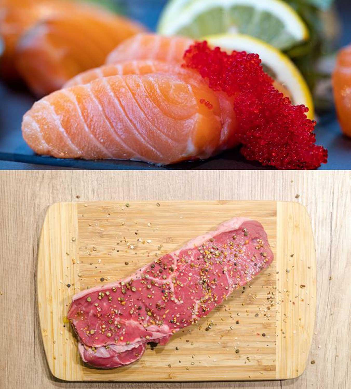Κρέας – Ψάρι